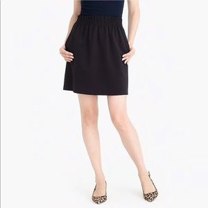 J. Crew   Wool Sidewalk High Waisted Elastic Skirt